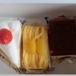 リングリー - 料理写真:いちごショート、モンブラン、ティラミス