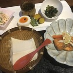 前蔵 - 名物 ざる豆腐