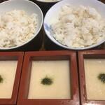 前蔵 - 麦とろご飯