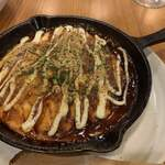 笑店 - 山芋チーズ鉄板