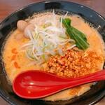 120837515 - 坦々麺(並盛)  900円                       うずら味玉3個トッピングサービス