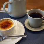 cafe やお亭 - クレームブリュレ