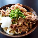 マルタニ製麺 - 肉ぶっかけ冷