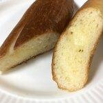 120843310 - バターたっぷりの黄色いパン♡