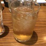 さくら家 - 梅酒のソーダ割