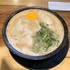 麺家ぶらっくぴっぐ - 料理写真:生卵入りらーめん