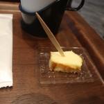 パティスリー パブロフ - チーズケーキの試食