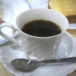 ルノアール - ◆珈琲は少し苦みが強いタイプでしたので、ミルクをタップリ入れました。 ただ量が少ないので、モーニングとしてはもう少し欲しいところ。