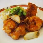 メルパルク - 大海老の唐辛子炒め(中華風)