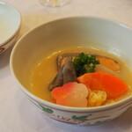 メルパルク - 秋鮭の酒粕汁風煮物(和食)
