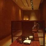 郷どり 燦鶏 - 堀炬燵式の座敷