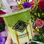 サハンジ - タピオカ抹茶ミルク