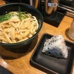 Menyakyouto - 朝きざみ定食(うどん)