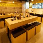 天ぷら酒場 上ル商店 - 【1階・禁煙】4~6名テーブル