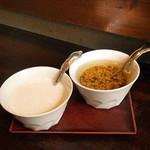 仁亭 - サラダのソース