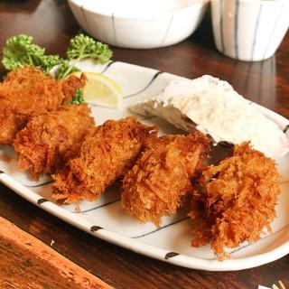 仁亭 - 料理写真:カキフライ定食