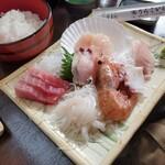 120869097 - お刺身定食1600円(消費税込み)