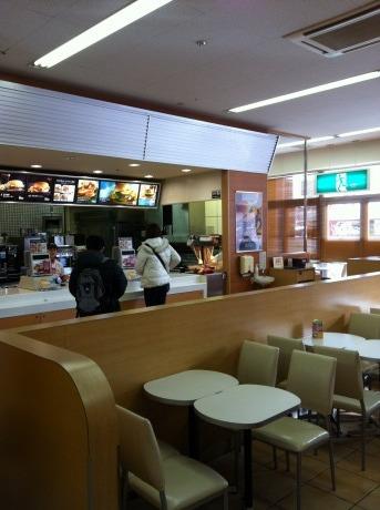 マクドナルド いずみコープ店
