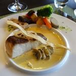アルカンシェール - 料理写真:メイン(鯛のポワレ)