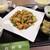 大新園 - 鶏肉の黒胡椒炒めセット