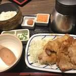 茶らく - 生姜焼き