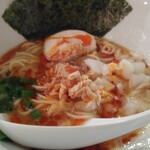 とん龍  - 辛味鶏白湯800円