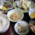 武蔵 - 料理写真:てんぷら定食(2012.3.4)