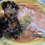 江川亭 - キクラゲ麺