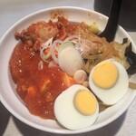 蒙古タンメン中本 - 半蒙古丼