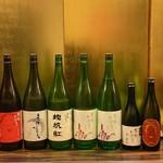 手打うどん 寿庵 - 山口の人気蔵東洋美人。いいお酒を出しています。