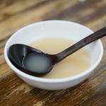 東横 - スープ割り用の出汁