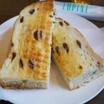 Jcafe - モーニングのぶどうパン