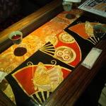 博多 弁天堂 - テーブル