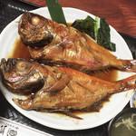 魚河岸 - 金目鯛の煮付け定食