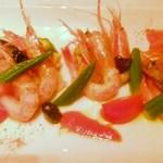 イタリア料理 アルファロ - 甘海老のマリナート