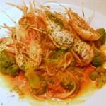 イタリア料理 アルファロ - スカンピエビ、シェフおすすめパスタ