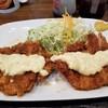 とんかつのなみま - 料理写真:チキンカツタルタルサラダ。