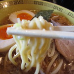 江川亭 - 麺アップ その1
