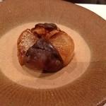 ごでん屋 - 大根と椎茸の焼き物