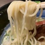 麺匠 藩次郎 - 海鮮白湯塩らーめん¥850