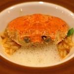 セルサルサーレ - 甲箱蟹のリゾット