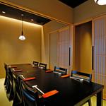 和蔵義 - 【2階/テーブル個室】近江牛・京の逸品・鍋を囲んでごゆるりとお過ごしください