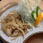 和風カフェ しゅしゅ - しょうが焼き