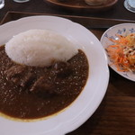 Koh's - 料理写真:牛ほほカレーセット ¥1,000
