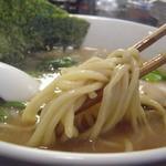 澤 - 丸太麺(ストレート)かな?