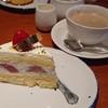 グリルキャピタル東洋亭 - 料理写真:苺のショートケーキ&ホットコーヒー