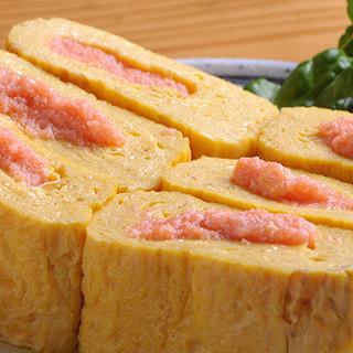 こだわりの逸品「明太だし巻玉子」をはじめ、豊富な料理メニュー