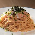 ピーカーブー - 明太子スパゲティ・焦がしバター醤油風味