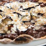 ピーカーブー - 揚げナスのピザ
