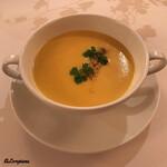 シェムラブルリス - 玉蜀黍とバターナッツのポタージュ